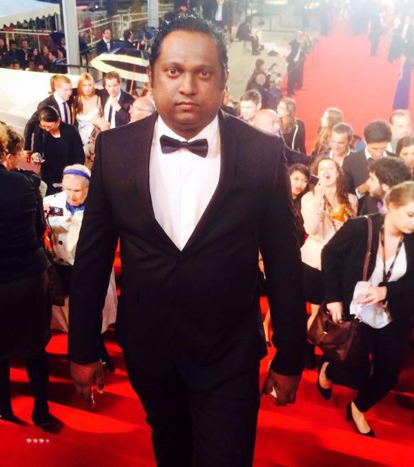 Rupesh Paul At Cannes2