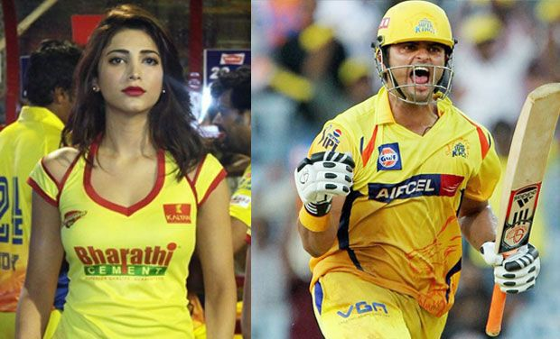 Shruti-Haasan-and-Suresh-Raina