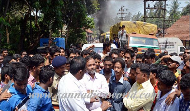 Gurupura_Accident_Protest_13