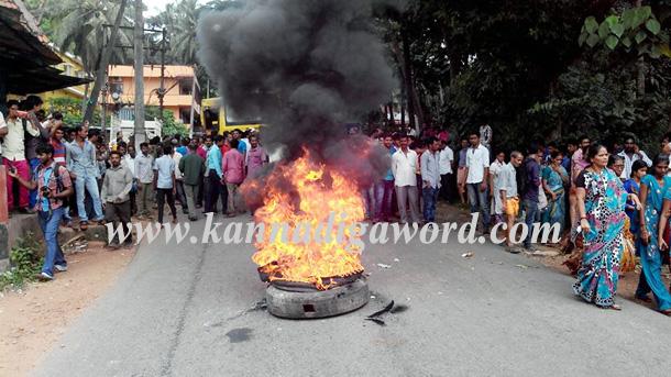 Gurupura_Accident_Protest_2