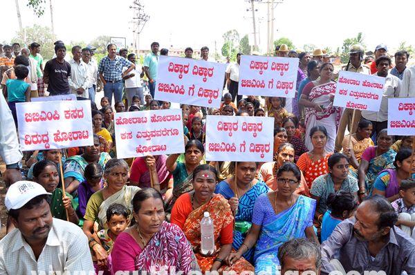 Manduru Village protest_June 1_2014-014