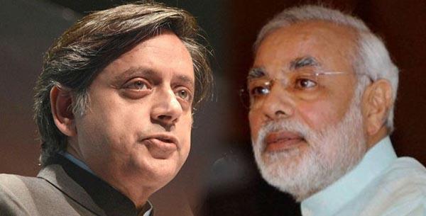NarendraModi_Tharoor