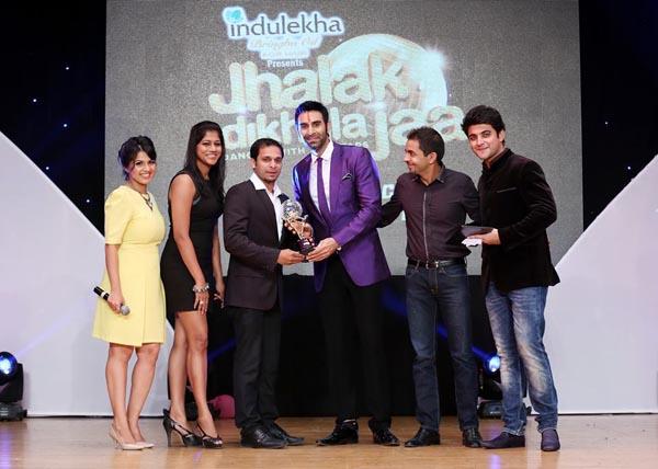 Sandip Soparrkar with Jhalak Dikhala Jaa UAE