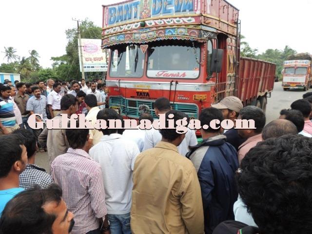 beejadi road accident. (2)