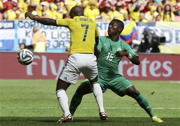 Brazil Soccer WCup Colombia Ivory Coast