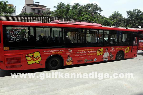launch of BMTC -I Wont Honk Volvo buses_June 27_2014_001