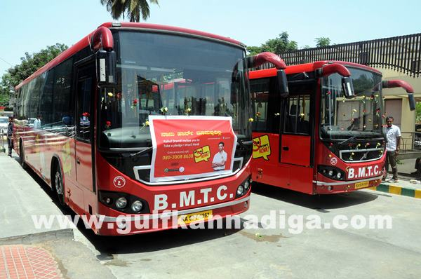 launch of BMTC -I Wont Honk Volvo buses_June 27_2014_002
