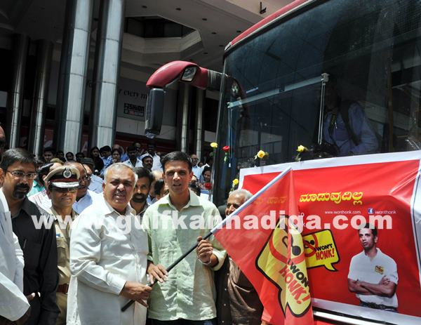launch of BMTC -I Wont Honk Volvo buses_June 27_2014_003