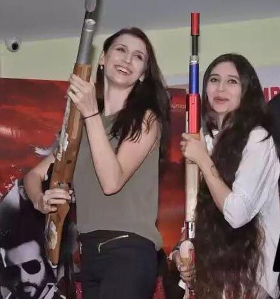 Claudia with Sasha Agha