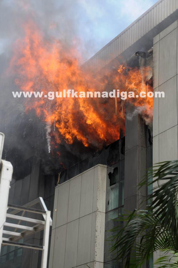 Fire at AMR Tech Park _July 18_2014_003
