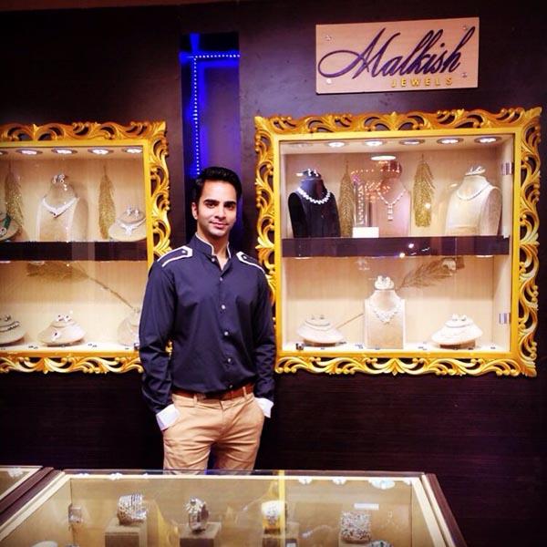 Owner of Malkish Jewels Dev Balani