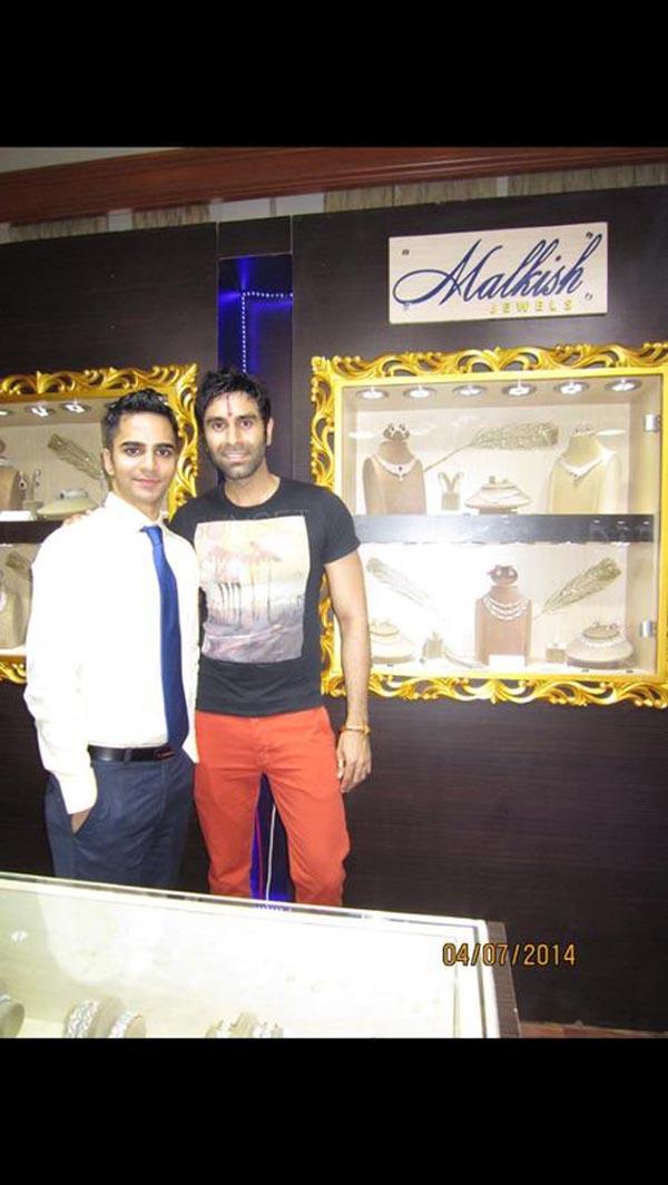 Sandip Soparrkar with Dev Balani