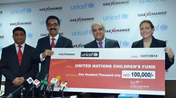 UAE Exchange - UNICEF Photograph