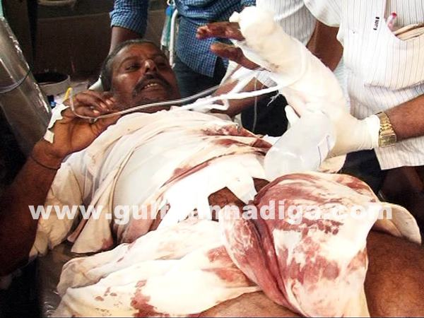 farmers clash with police at Kudgi_July 5_2014_004