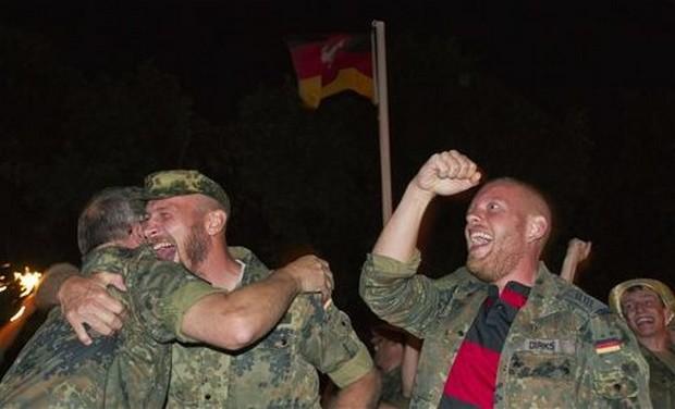 APTOPIX Kosovo WCup Germany