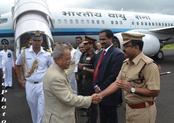 president_landing_flight