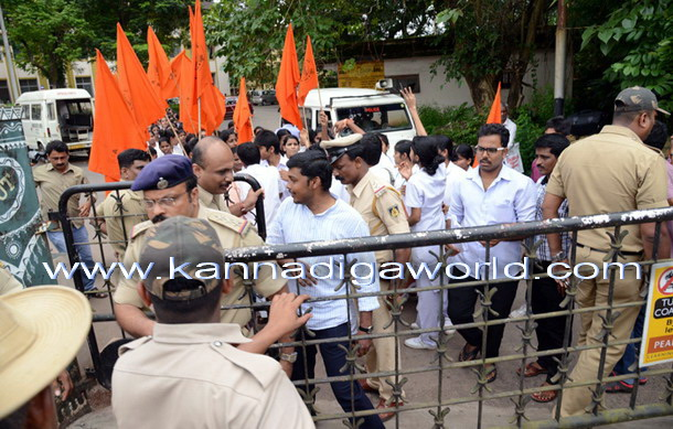 Abvp_Protest_Police_9