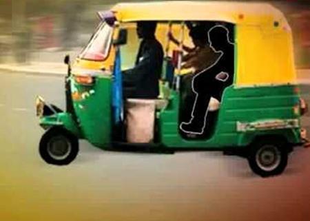 Auto passenger assult by driver