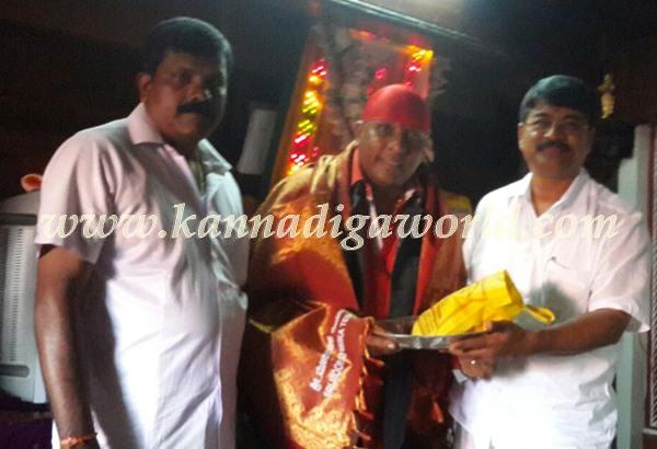 Shivamani_visit_Kollur