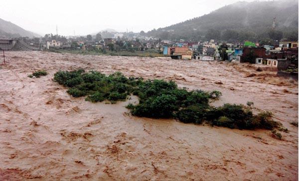 Flash floods in Jammu