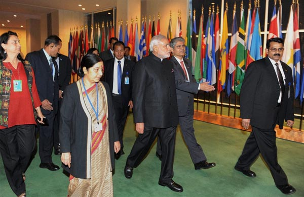 Modi at UN