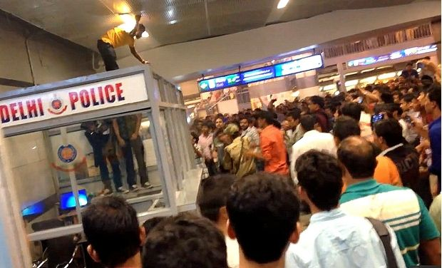 Delhi molestation case against