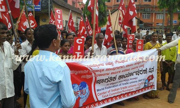 Kundapur_CITU_Protest (1)