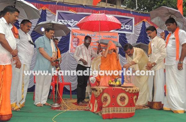 Pejavara Shri_ visit_Koteshwara (1)