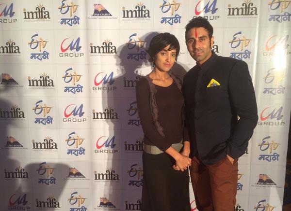 Sandip Soparrkar with Jesse Randhawa at IMFFA