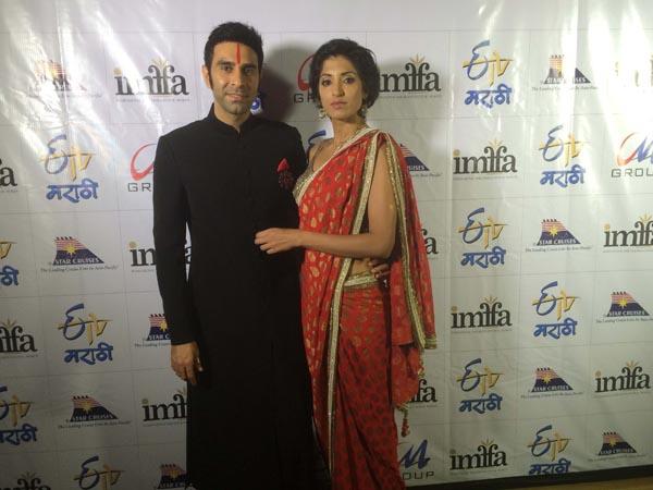 Sandip Soparrkar with Jesse Randhawa at IMFFA4
