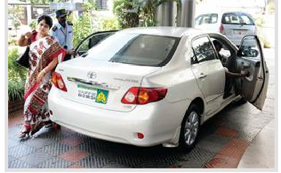 Luxury Car For Minister Used By A Deputy Environmental Officer