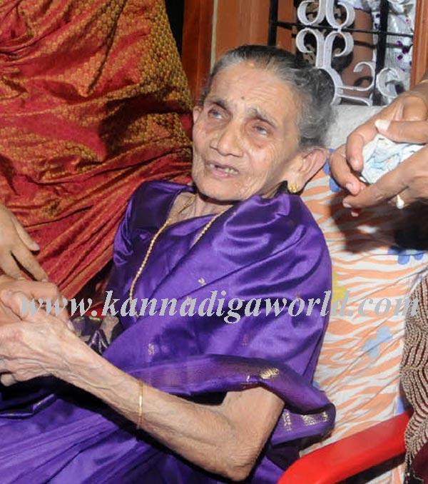 ಡಿ.ವಿ ಸದಾನಂದ ಗೌಡರ ಮಾತೃಶ್ರೀ ವಿಧಿವಶ