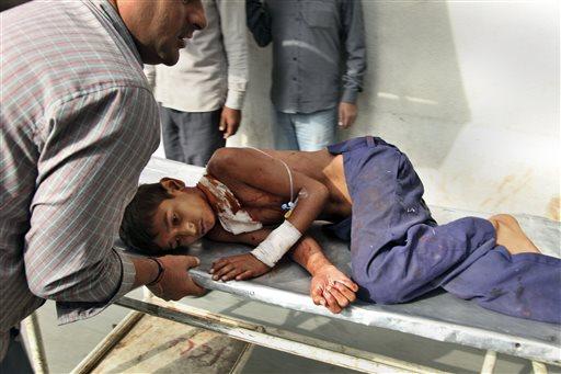 India Kashmir Border Violence