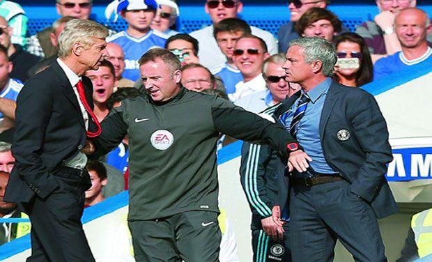 wenger-mourinho-clash