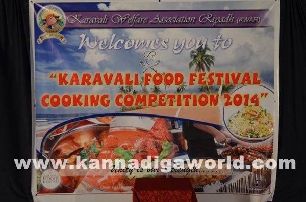 Food festival-Cooking competition conducted by Karavali Welfare Association Riyadh_Nov 12_2014_001