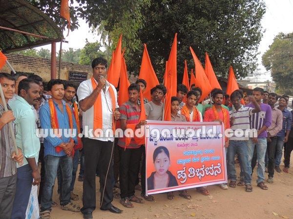 Koteshwara-Bajarangadala_Protest (1)