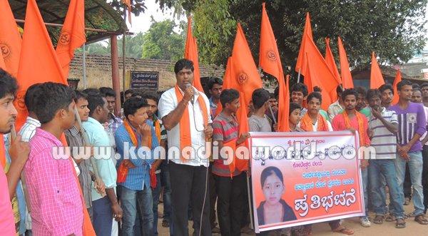Koteshwara-Bajarangadala_Protest (2)