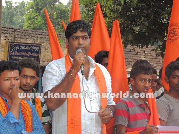 Koteshwara-Bajarangadala_Protest (3)