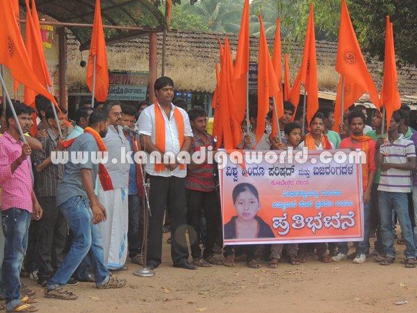 Koteshwara-Bajarangadala_Protest
