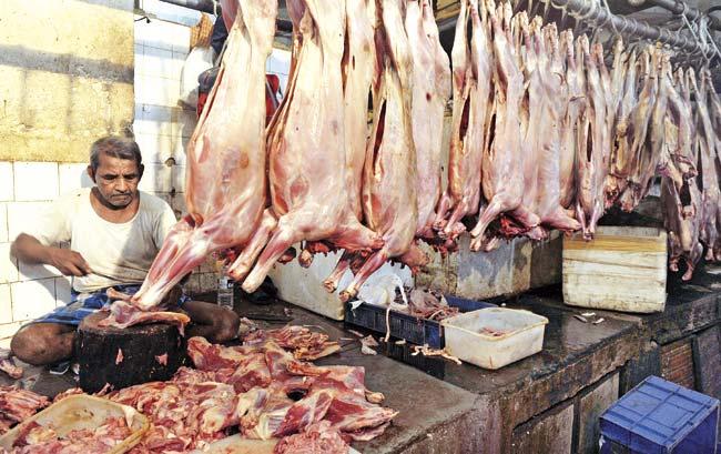 Meat-shops
