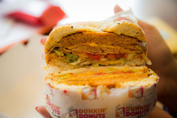 Dipping Into India, Dunkin' Donuts Changes Menu