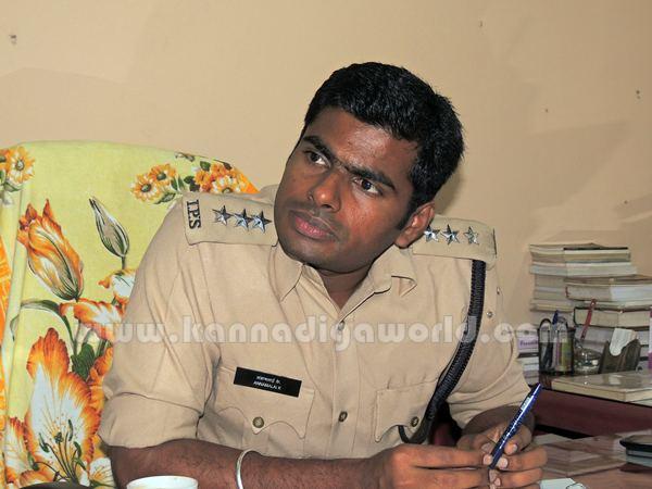 ASP_Annamalai_Kundapura