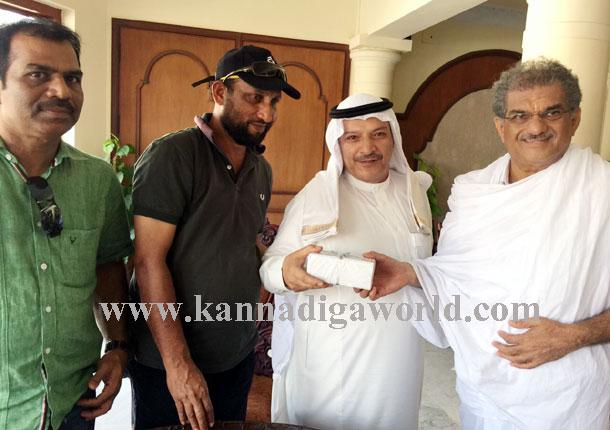 Mazid_dharmastala_visit_1