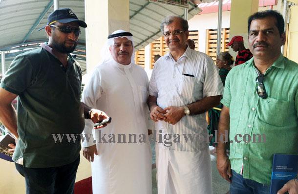 Mazid_dharmastala_visit_2