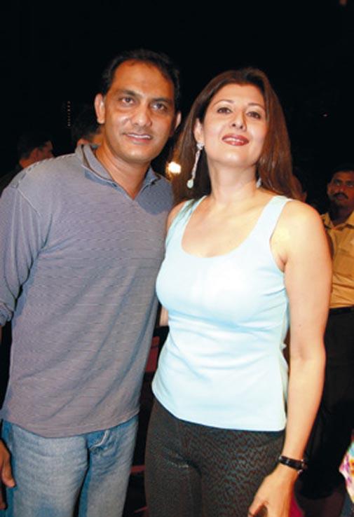 Azharrudin and Sangta Bijlani.JPG