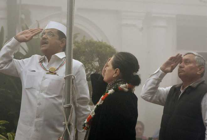 Congress' 130th foundation day