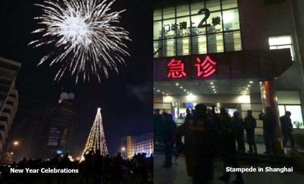 Celebration and atampede