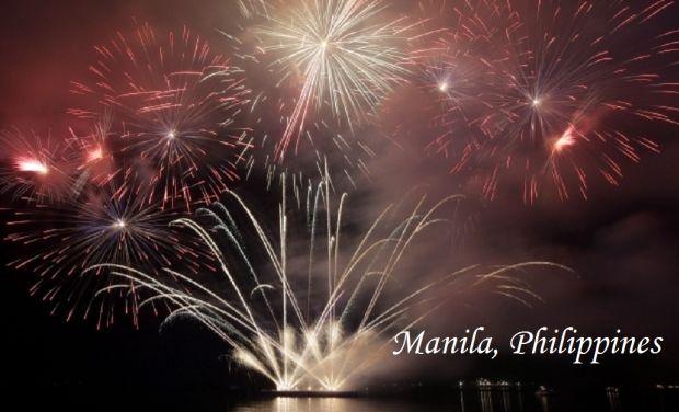 Manila_Philippines_New Year_2015