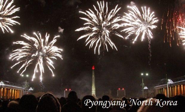 Pyongyang, North Korea New Year_2015_APn