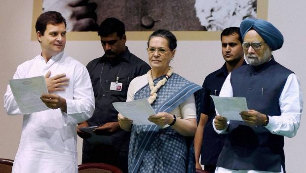Sonia-Rahul-Manmohan-PTI